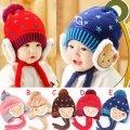 可愛《星星小熊款》百搭護耳帽~保暖帽