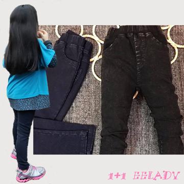 【1+1 EE-LADY】超彈性牛仔內搭褲(二色)