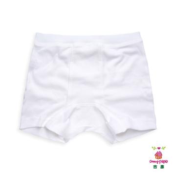 男童素面四角褲_美國精梳棉