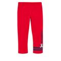 Disney 米妮系列害羞米妮彈力棉褲-紅色