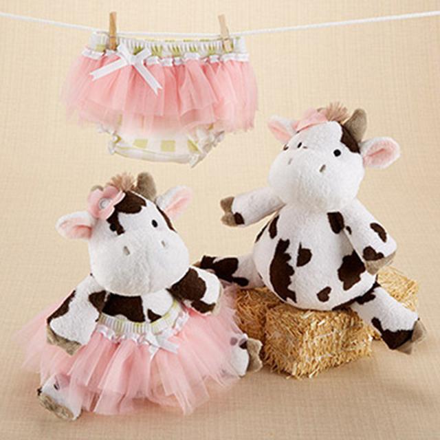 *Mombabyfun* Baby Aspen BAS 可愛乳牛包屁紗裙禮物組(彌月禮) BA15065NA