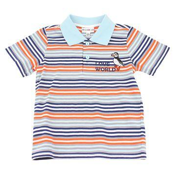 LOVE WORLD海鸚鵡系列POLO衫(印花色)