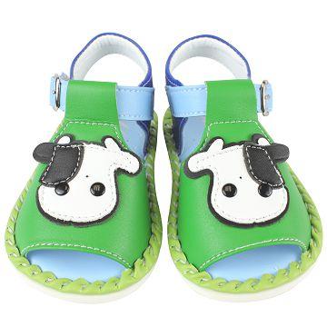 MINIA漂亮牧場寶寶鞋(綠色)