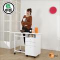 BuyJM低甲醛可折合三抽附輪工作桌