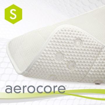 Microdry 《aerocore In-Tub Bath Mat》3D舒適浴缸墊 【珍珠白/S】