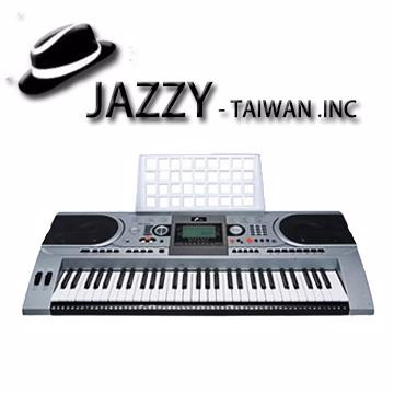 《奇歌樂器》台灣JAZZY 61鍵多功能電子琴JZ-666‧電腦編輯‧液晶大螢幕‧力度琴鍵