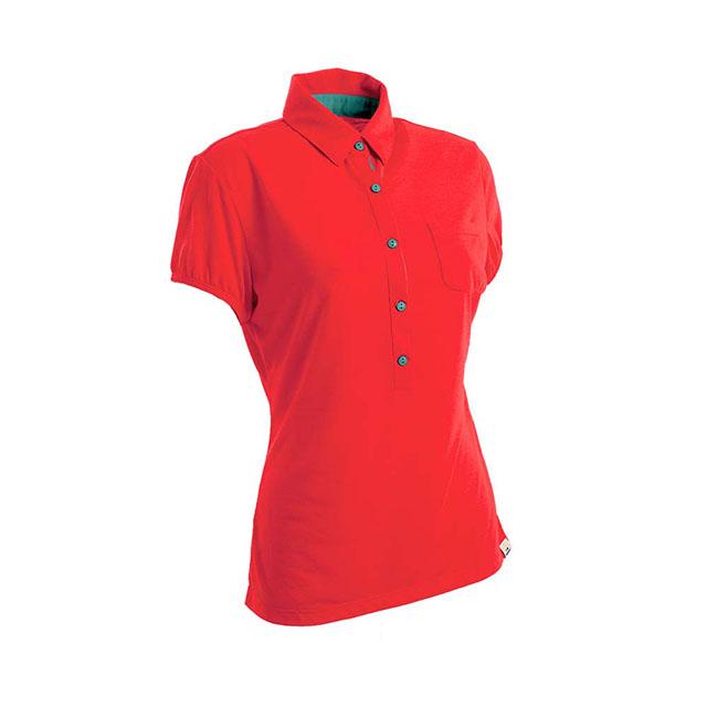 法國【EiDER】女排汗透氣短袖POLO衫/  EIT2651