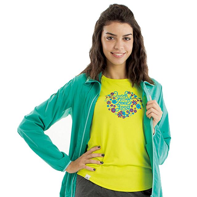 法國【EiDER】女排汗透氣短袖圓領衫/  EIT2652