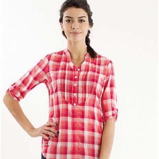 法國【EiDER】女排汗透氣抗UV七分袖襯衫 EIT2671