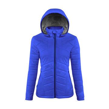 【GoHiking】女Primaloft保暖外套-海軍藍