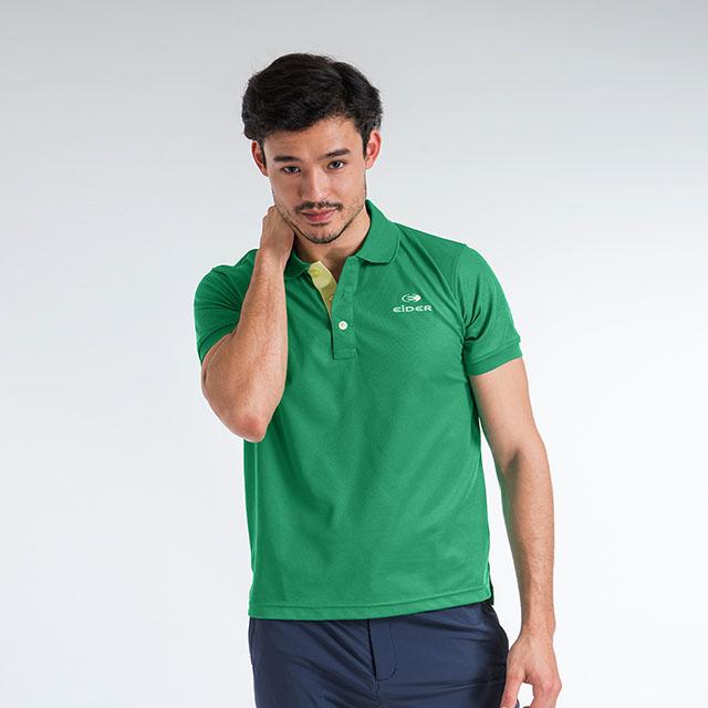 法國【EiDER】男排汗透氣抗UV短袖POLO衫/ EIT1752