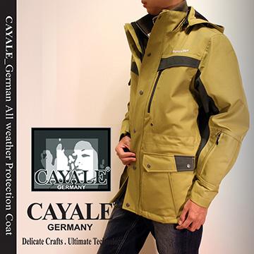 【CAYALE_卡亞利 德國 SympaTex】全天候鉑金級防護 機能外套《二件式》