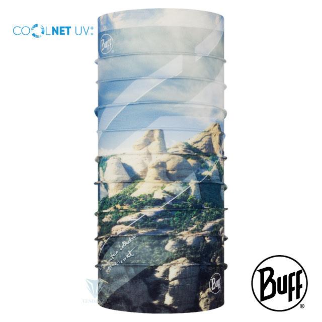 【BUFF】BF122525 Coolnet抗UV頭巾-山岳系列-西班牙蒙塞拉特山