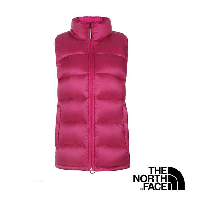 (女)The North Face 800 fill 羽絨背心 桃粉紅 CTV9146-