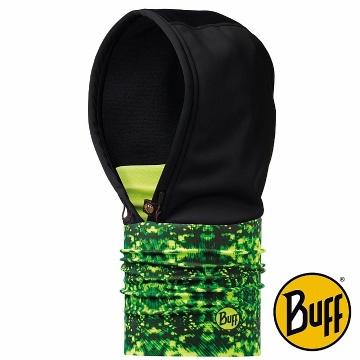 BUFF 螢光叢林 WINDSTOPPER防風保暖連帽頭巾(2180)