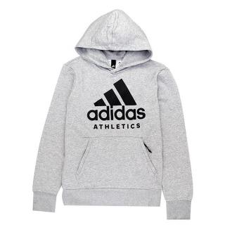Adidas 男 Sport ID連帽上衣 灰色