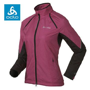 【ODLO】女輕量化防潑水夾克 346311 (32201 紫紅)