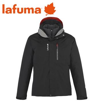 法國 Lafuma Pumori Down Twin GTX 兩件式羽絨外套 男款 黑 #10562