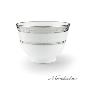 【Noritake】華麗年代茶杯-銀