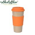 【Husk's ware】美國Husk's ware稻殼環保咖啡隨行杯-熱帶橙