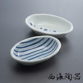 【西海陶器】日本美濃燒 日式簡約咖哩對盤
