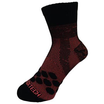 《EGXtech》《8字繃帶》P83 中統多功8字繃帶運動襪AIR(螢光橘)