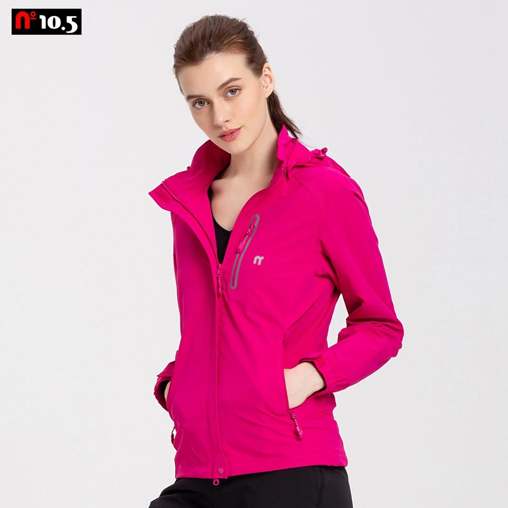 【n10.5】秋冬新款 女款戶外高彈性保暖透氣風衣夾克 運動外套N30I44101