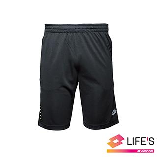 【LOTTO 義大利】男 訓練短褲(黑-LT2104931CL)