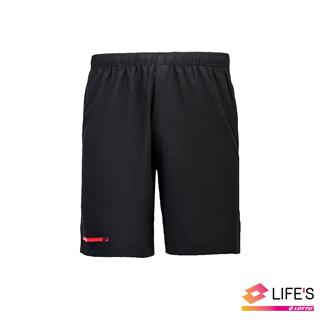 【LOTTO 義大利】男 訓練短褲(黑-LT2114351CL)