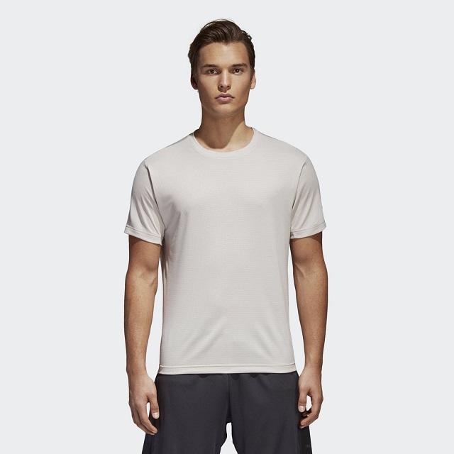 ADIDAS FREELIFT CHILL 男 運動短袖T恤 灰-CE0824
