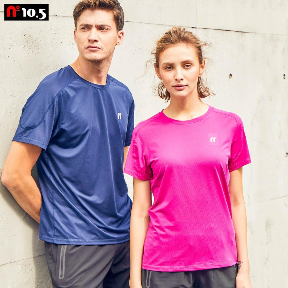 【n10.5】女款素面機能透氣排汗T恤素面運動上衣_桃紅 N30J21102