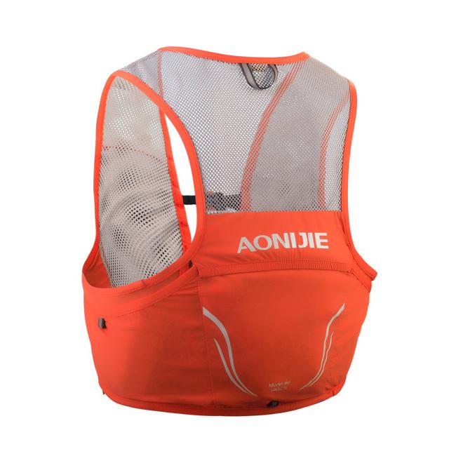 奧尼捷 AONIJIE 輕量單車越野跑步背心背包2.5L (軟水壺另購) 橘紅馬拉松/運動/騎行/慢跑/登山/健行/越野賽