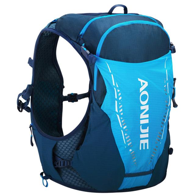 奧尼捷 AONIJIE 單車運動跑步越野水袋背包10L 動力藍馬拉松/運動/騎行/慢跑/登山/健行/越野賽