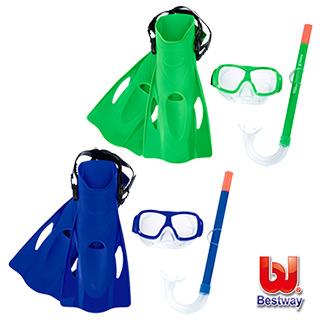 【愛而富L&R】Bestway。兒童浮潛/潛水套裝組 25019
