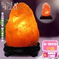 【瑰麗寶】《買就送USB鹽燈》精選玫瑰寶石鹽燈超值2入組_買9-10KG送金鑽旺福USB鹽燈