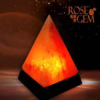 【瑰麗寶】精選能量USB迷你金字塔鹽晶燈