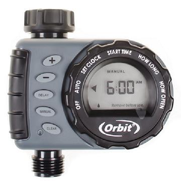美國ORBIT自動定時灑水器(LCD螢幕)