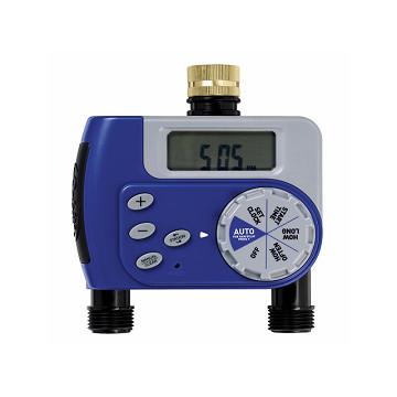 美國ORBIT自動定時灑水器(雙區)(限定特別款)藍色