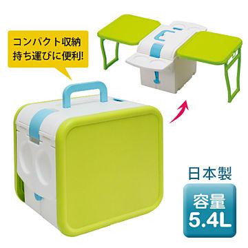 日本IMOTANI迷你變形冰桶/保冷5.4L PFW-31