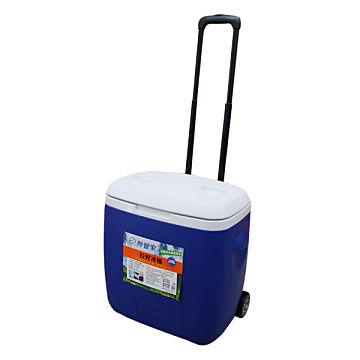 【松果戶外|妙管家】拉桿冰桶28L(深藍)-冷藏箱-攜帶式冰箱-保冷HKI-2800DB