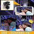 【金利害】mini LED高亮度萬用小夾燈(單車/釣魚/工作燈 具夜光功能)CL108