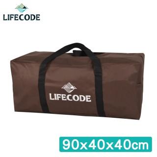 LIFECODE 野營裝備袋(XL號) -(咖啡色)