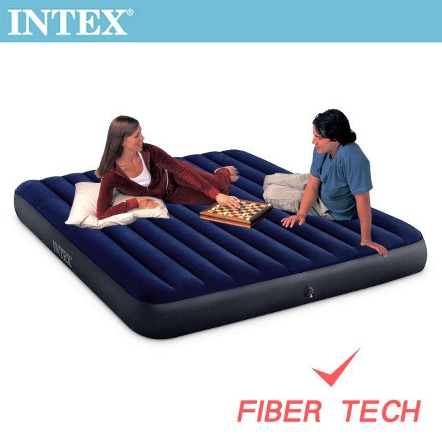 INTEX 經典雙人充氣床-寬152cm(64759)