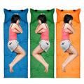 PUSH!戶外用品 加厚3D弧形枕頭自動充氣可調整枕頭高度睡墊 床墊 野餐墊 瑜伽墊