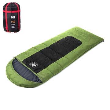 PUSH! 登山戶外用品 帶帽型睡袋四季空調被可拼接睡袋大號