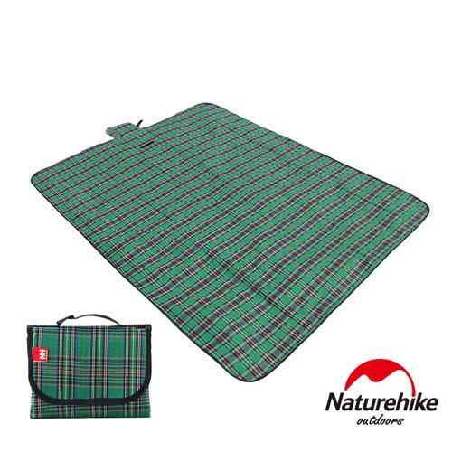 Naturehike戶外多用途攜帶式野餐墊 防潮墊 地墊 綠色