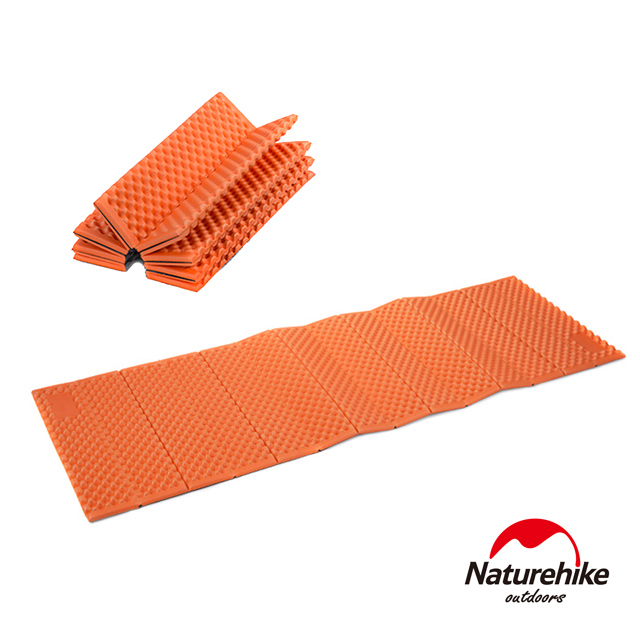 Naturehike 耐壓蛋巢型折疊防潮墊 睡墊 橙色