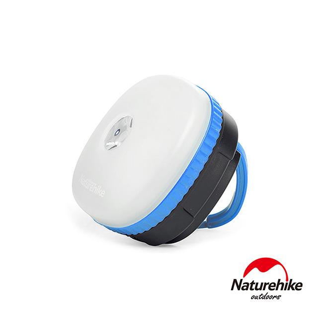 Naturehike 迷你防水四段式LED磁性多功能手電筒帳篷燈 營燈 藍色