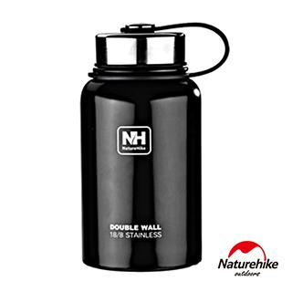 Naturehike不鏽鋼戶外時尚保溫瓶600ml 黑色