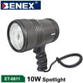 BENEX CREE LED T6 10W IPX6防暴雨 鋁合金槍式探照燈 手電筒 ET-0811
